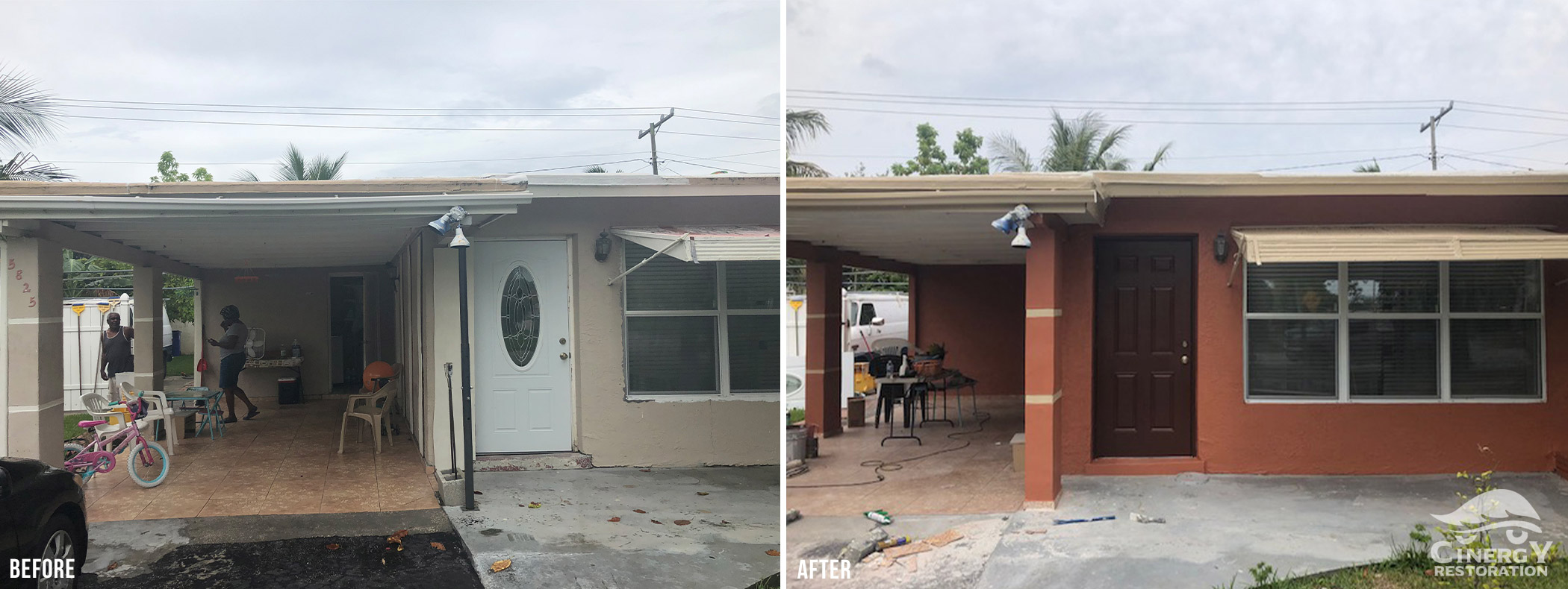 Cinergy Before After House